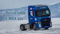 Ford F-MAX donmuş Baykal Gölü üstünde hız rekoru kırdı!
