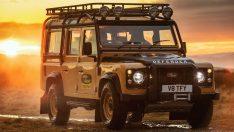 Klasik Land Rover Defender, Goodyear ile yeniden