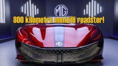 MG'den 800 kilometre menzilli elektrikli roadster konsepti!