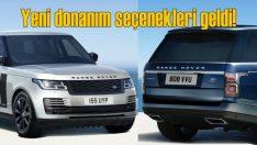Range Rover'a Westminster ve Black Edition seçenekleri eklendi
