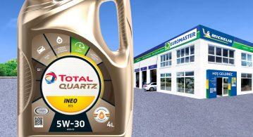 Euromaster noktalarında Total ve Elf Yağ değişimi yakıt kazandırıyor