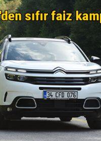 Citroen'den Mayıs ayına özel sıfır faiz kampanyası