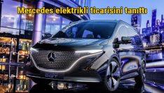 Mercedes elektrikli minivan EQT'nin konseptini tanıttı