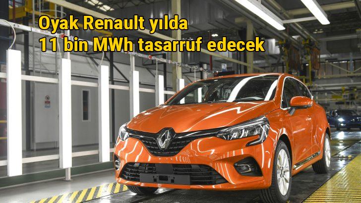 Oyak Renault LED dönüşümüyle yıllık 11.000 MWh enerji tasarrufu elde edecek