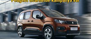 PEUGEOT ticari araç modellerinde Mayıs ayına özel kampanya