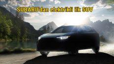 Subaru yeni tam elektrikli SUV'una SOLTERRA ismini verdi