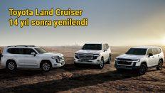 Toyota uzun bir aradan sonra Yeni Land Cruiser'ı tanıttı