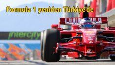 Formula 1 Ekim'de yeniden Türkiye'de
