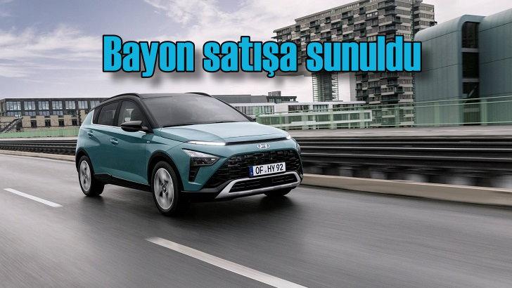 Hyundai Bayon Türkiye'de satışa sunuldu