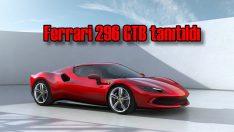 Ferrari 296 GTB tanıtıldı