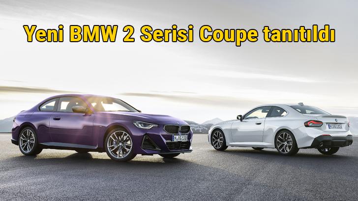 BMW 2 Serisi Coupe tanıtıldı