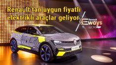 Renault Grubu'ndan rekabetçi ve uygun fiyatlı elektrikli araçlar geliyor