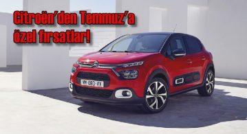 Citroën'den Temmuz ayına özel fırsatlar