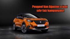 Peugeot'dan Ağustos'a özel sıfır faiz kampanyası!