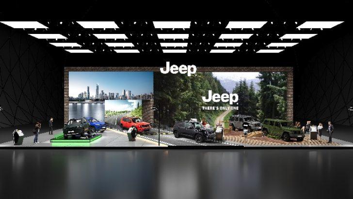 Jeep® Autoshow'da 80. yıl özel versiyonlarıyla yerini aldı