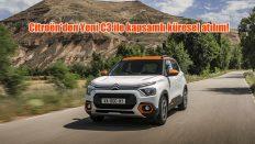 Citroën'den Yeni C3 ile kapsamlı küresel atılım!